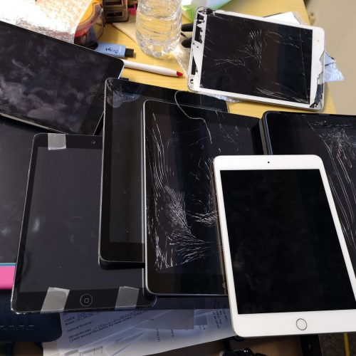 Secrets to reach to great business ideas for iPad screen repair