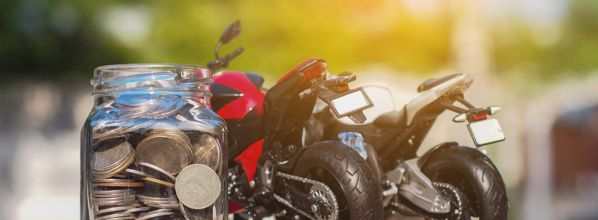 Buy motorcycle from the sale to save money: